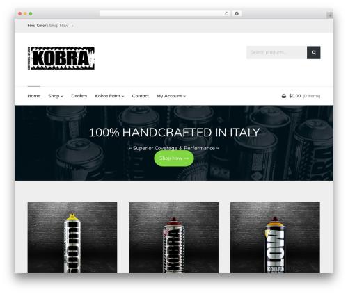 Latest template WordPress free - kobrapaintusa.com