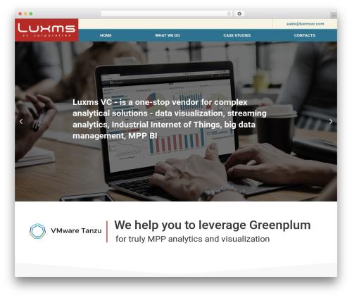 Rockers free website theme - luxmsvc.com