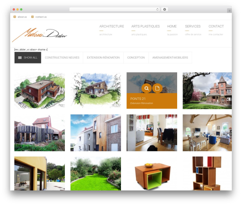 Arkitekt WordPress theme - mutonididier.be