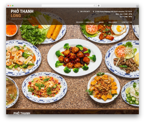 Coffee Pro WordPress restaurant theme - phothanhlong.net