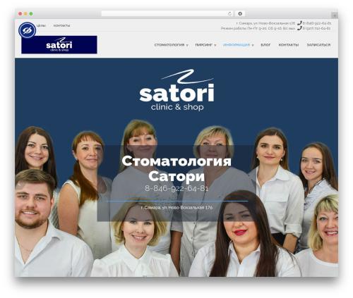 HealthFlex best WordPress theme - samarasatori.ru