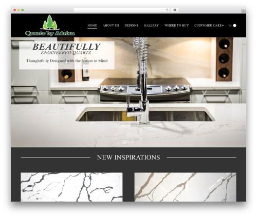 The7 WP template - quartzbyadrian.com