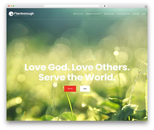 Theme WordPress Movedo - flamboroughbaptist.church
