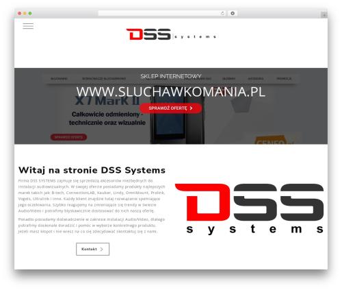 WordPress theme Knox - dsssystems.pl