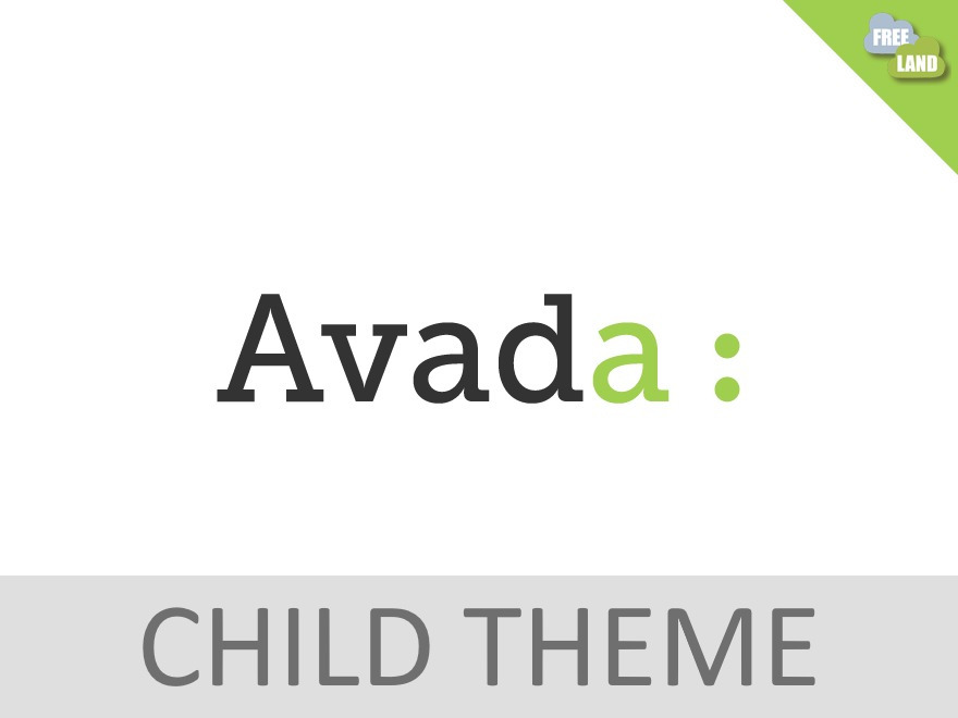 Avada Child Theme template WordPress