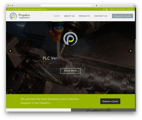 Betheme WordPress theme - prajaktaengineers.com