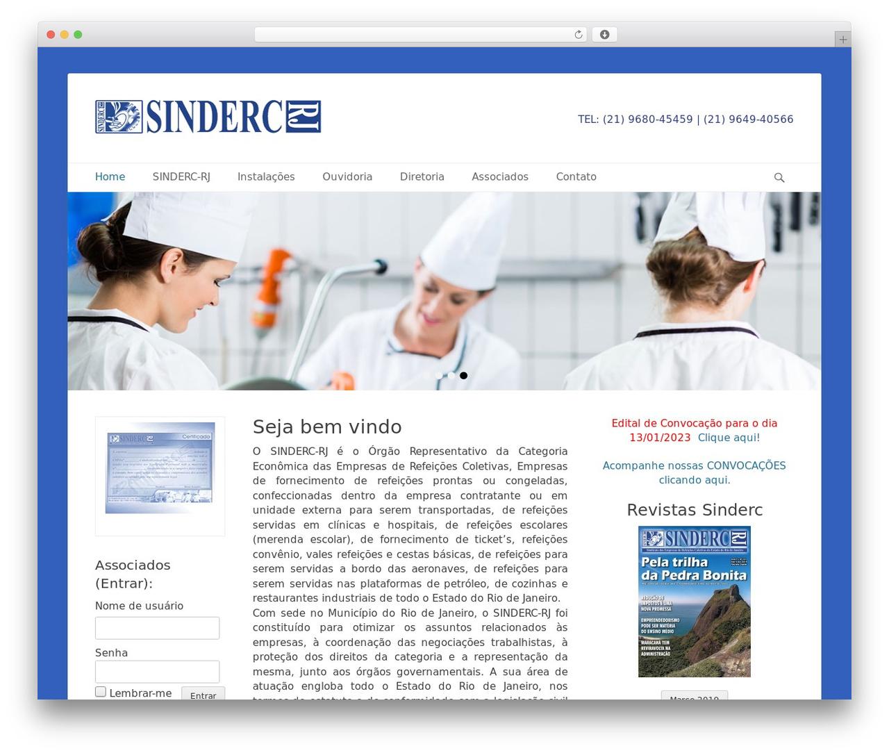 Catch Base Pro WordPress theme - sinderc-rj.com.br