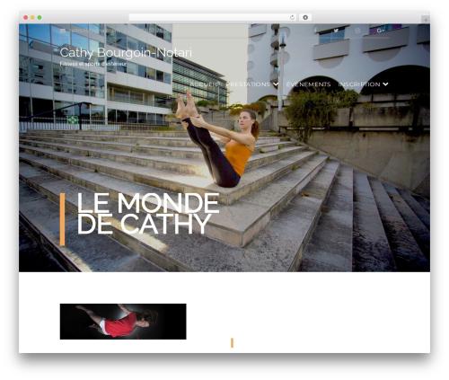 Gym Express Pro gym WordPress theme - cathybourgoin-notari.com