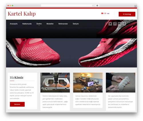 HnK WordPress theme design - kartelkalip.com