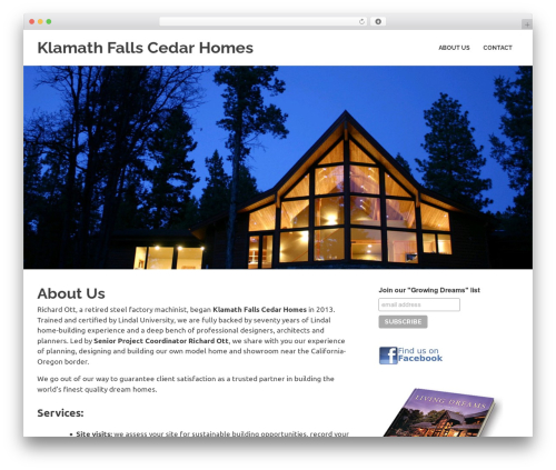 Poseidon WordPress theme download - klamathfallscedarhomes.com