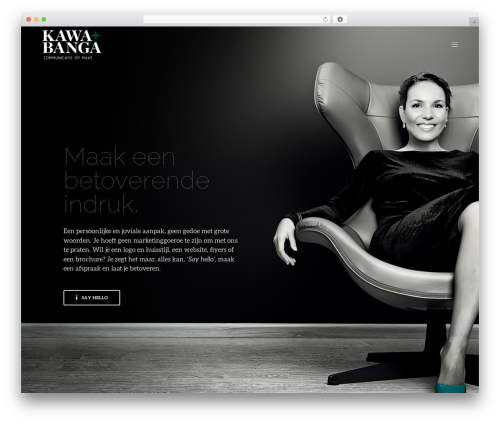 Revolution WordPress theme - kawabanga.be