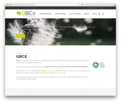 Stockholm WordPress theme - gbce.es