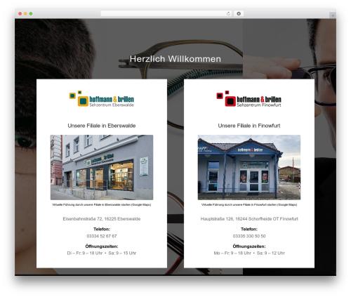 Enfold WP template - hoffmannbrillen.com