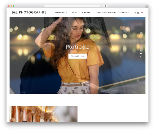 Luminis WordPress page template - jonatanlara.com