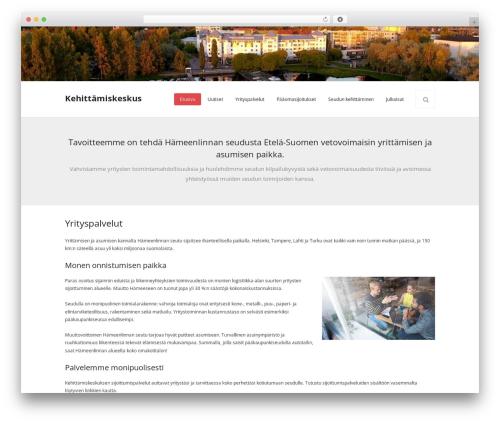 Renden WordPress template - kehittamiskeskus.fi