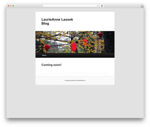 Twenty Eleven WordPress template free - lalassek.com