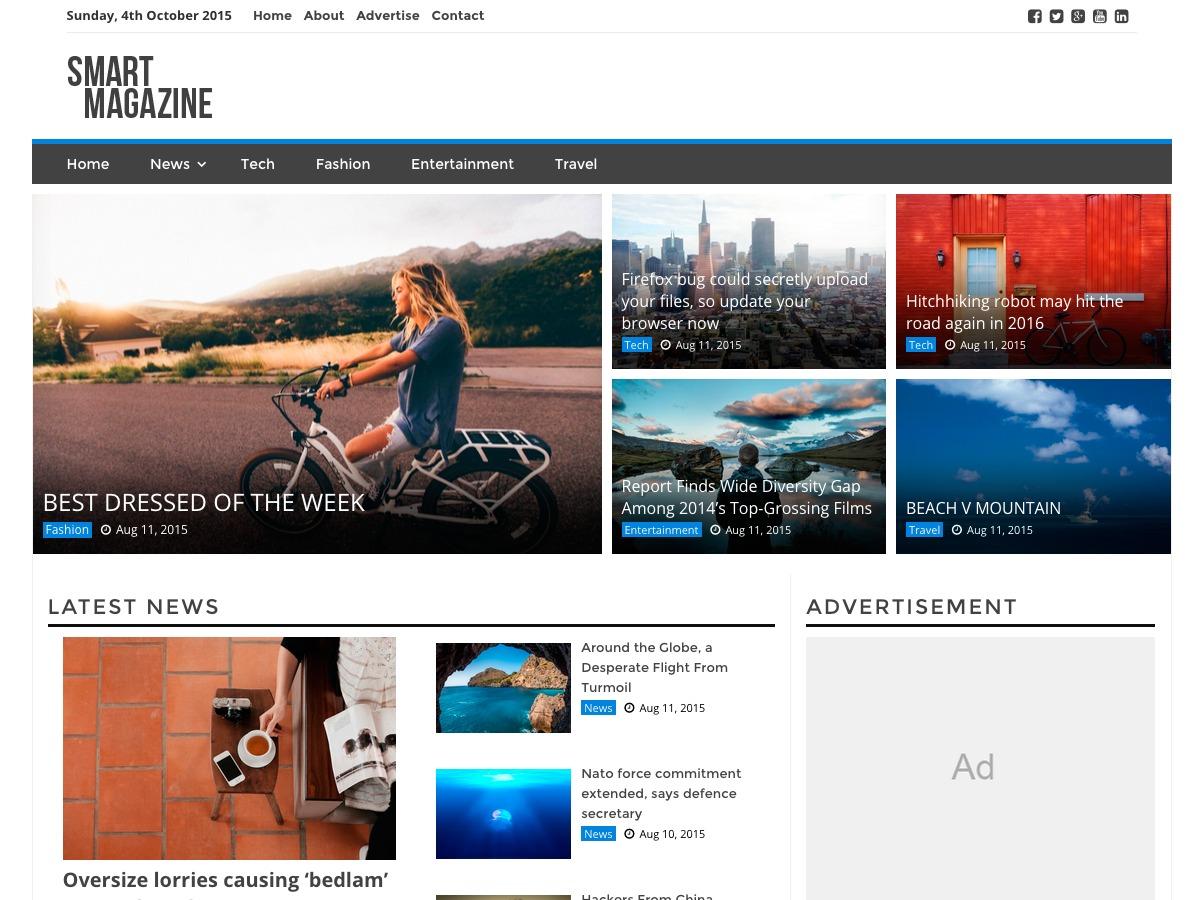 BizDevWeb - SMag1 WordPress news template