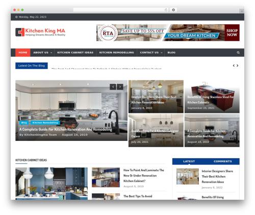 Theme WordPress News Vibrant - kitchenkingma.com
