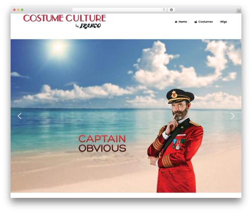 WordPress theme Bazaar - costumeculture.com