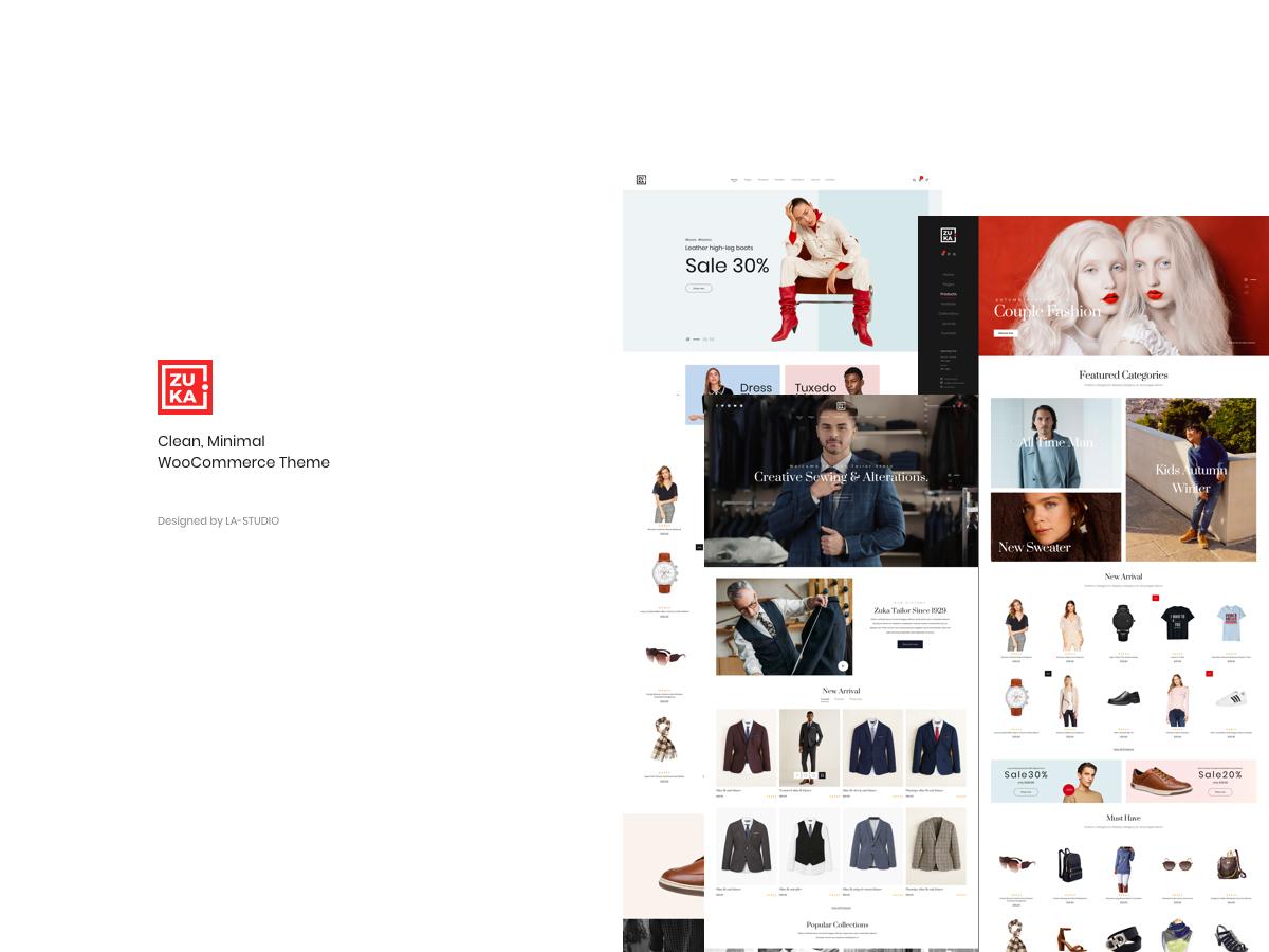 Zuka best WooCommerce theme