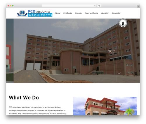 Architecturer WordPress theme - pcdassociates.com
