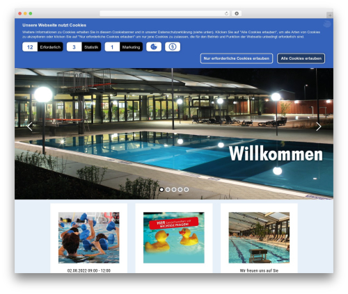 Betheme WordPress theme design - sport-und-wellnessbad-kelsterbach.de
