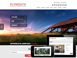 PlacesterTwo real estate template WordPress