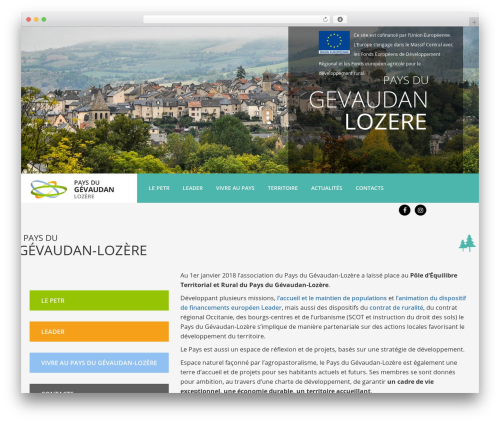 Theme BMS premium WordPress theme - pays-gevaudan-lozere.fr