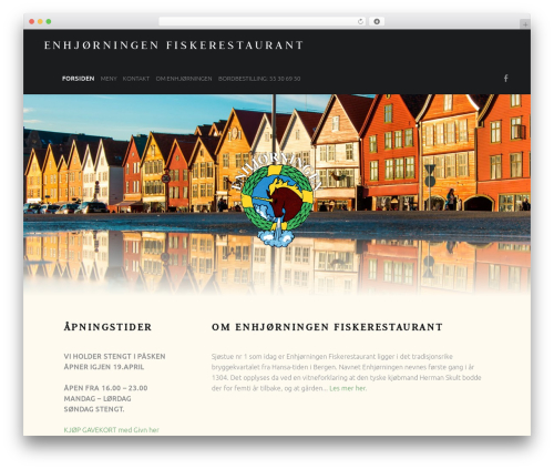 Theme WordPress Auberge Plus - enhjorningen.no