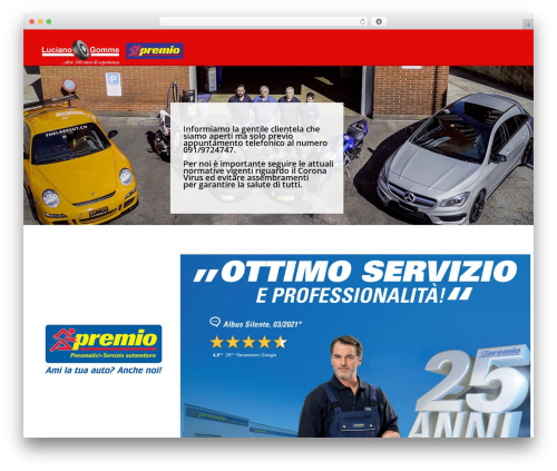 Autospa template WordPress - lucianogomme.ch