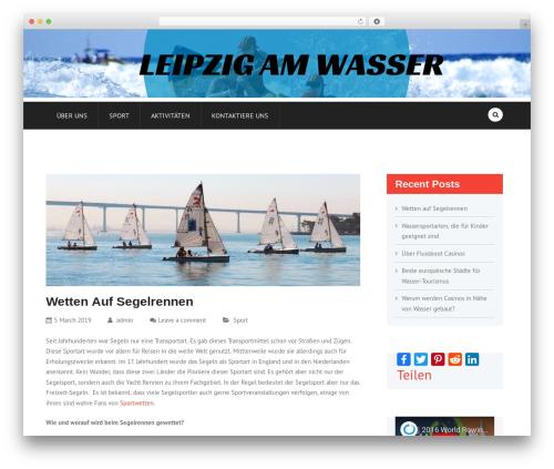 FinRelief WordPress theme - leipzig-am-wasser.de
