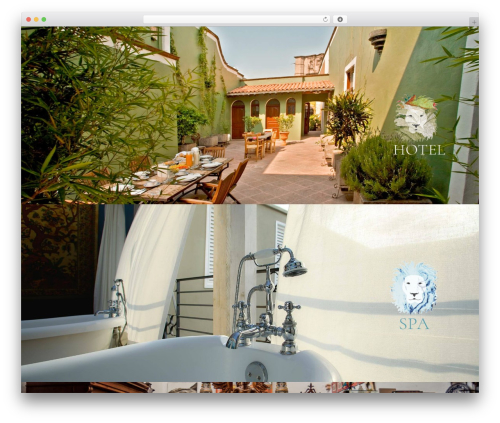 Hotel LUX WordPress hotel theme - lacasadelatrio.com