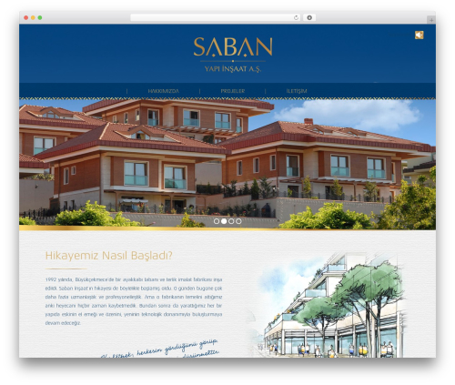 Theme WordPress The7 - sabaninsaat.com