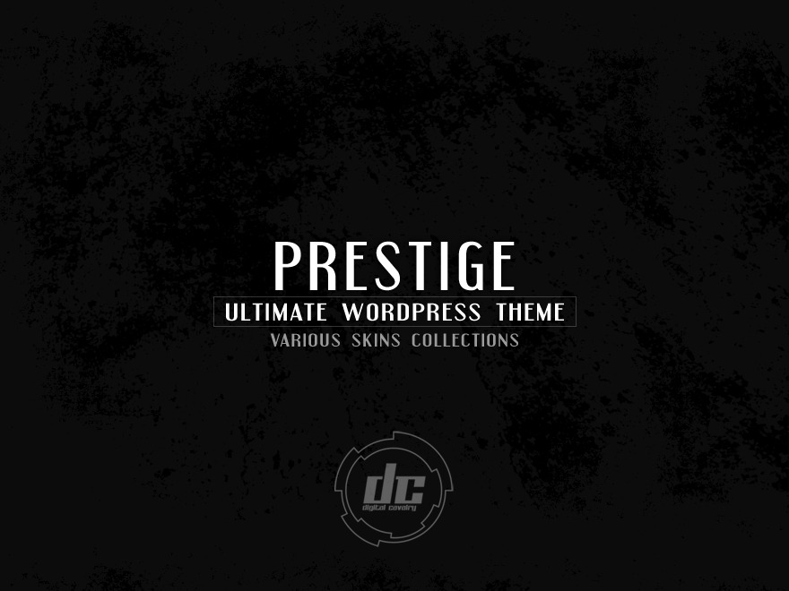 Prestige Ultimate Wordpress Theme ... WordPress portfolio template