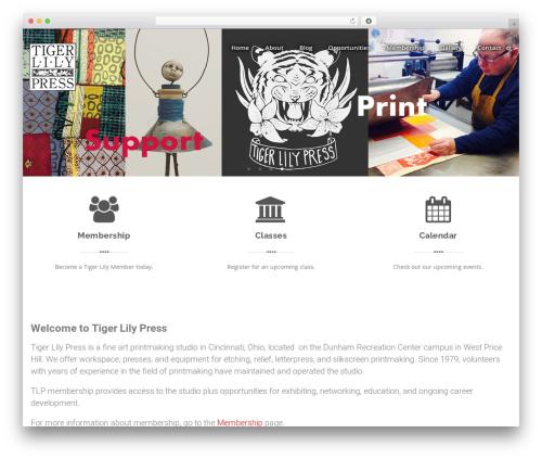 Swiftbiz Lite WordPress theme download - tigerlilypress.org