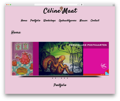 Template WordPress Padhang - celinemaat.nl