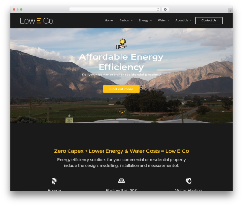 Theme WordPress Revolution - low-eco.com
