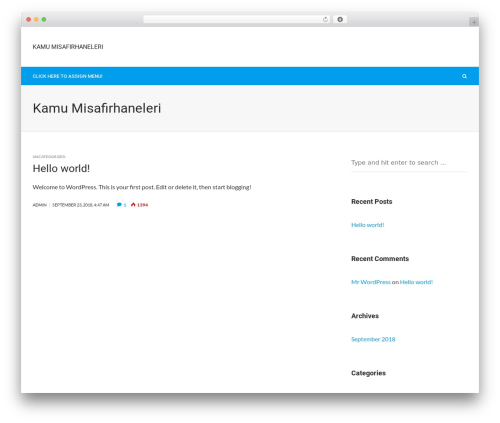 BlackerzOrg premium WordPress theme - kamumisafirhaneleri.com