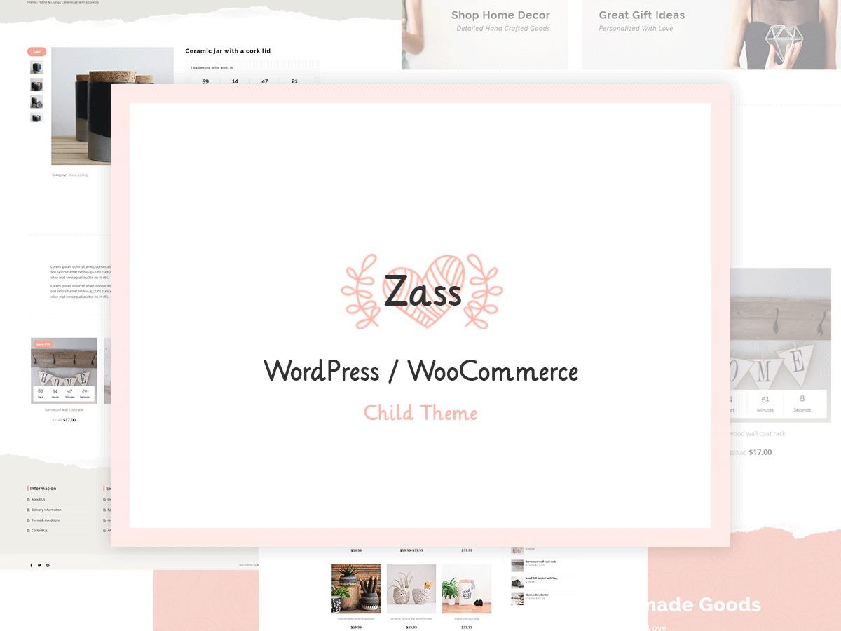 LBJ - Zass WordPress shop theme