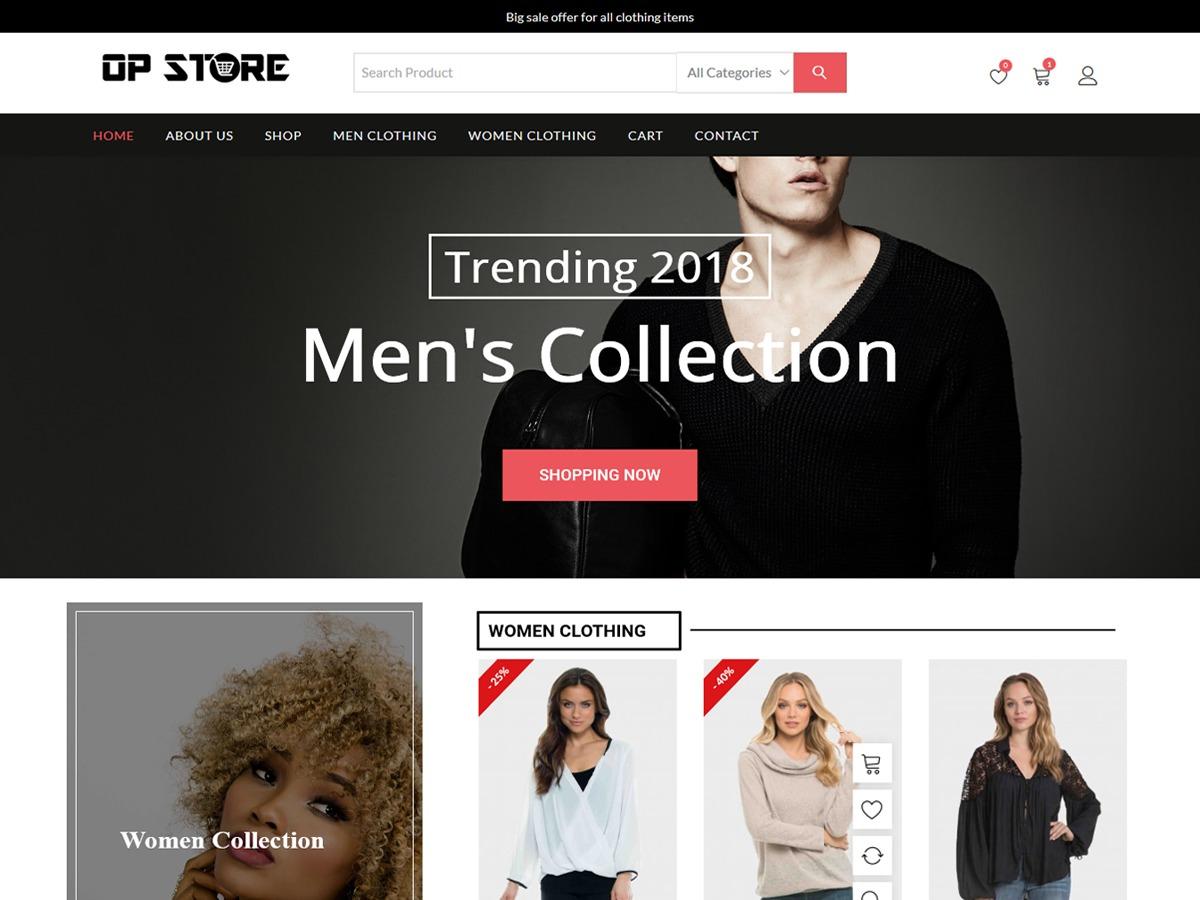 Opstore WordPress shop theme