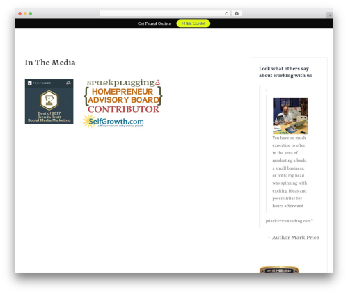 WordPress template Sydney - done4umedia.com/in-the-media