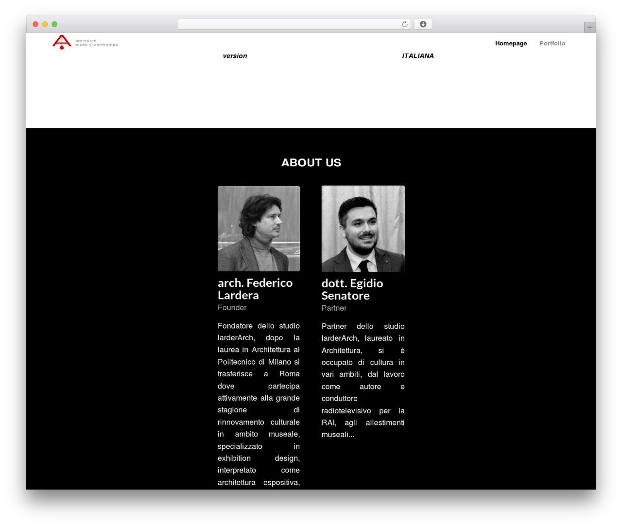 WordPress theme Enfold - larderarch.net