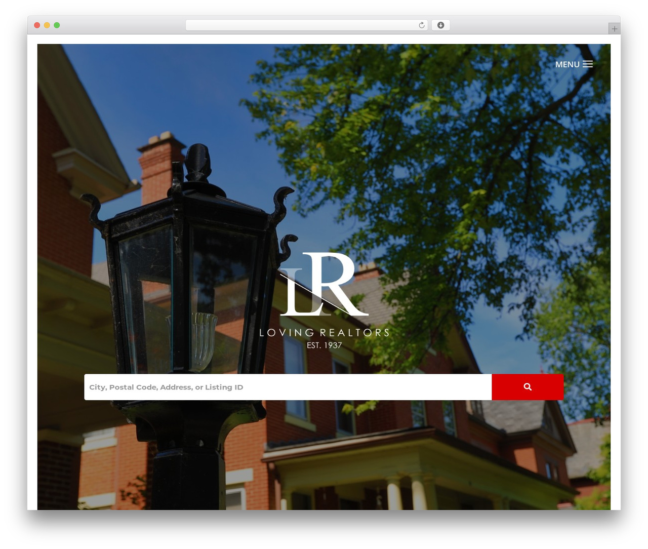 WordPress website template Divi - lovingrealtors.com