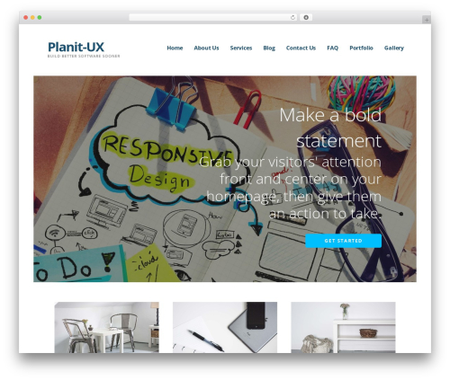 Ascension WordPress theme design - planit-ux.com