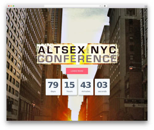 CONFERENCE-WP WP theme - altsexnycconference.org
