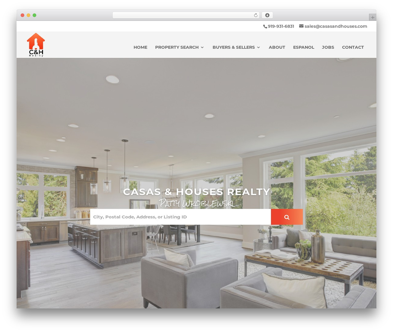 Divi WordPress theme - casasandhouses.com