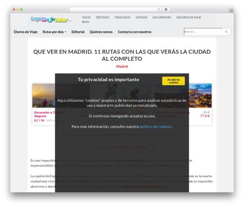 neve theme WordPress - lugaresquevisitar.com/que-ver-en-madrid