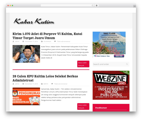 WordPress theme ktz freak - kabarkutim.com
