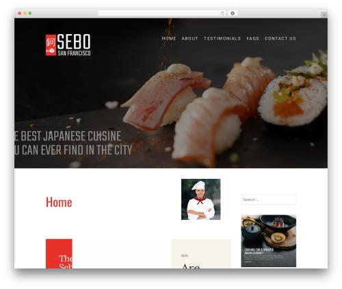 Food Express free WordPress theme - sebosf.com