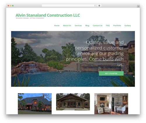 WordPress theme Ascension - buildasc.com